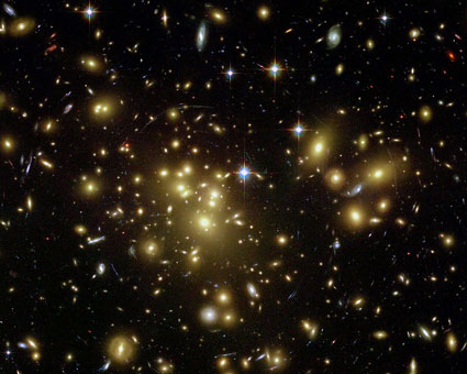 A galaxy of sparkling diamonds